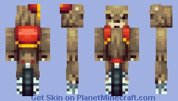 Bear on a Unicycle Minecraft