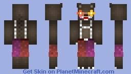 Circus BlackHuggyBear Minecraft Skin