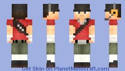 TF2 Scout Minecraft Skin