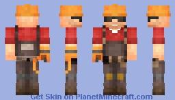 TF2 Engineer Minecraft Skin
