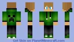 Boy in Green Hoodie