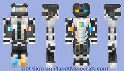 Ironman Portal Mk2 Requested by (Edison245) now with P-body and Atlas in the description Minecraft Skin