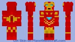 Iron-Man - 1.8 Skin Minecraft Skin