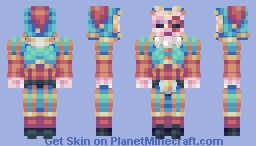 Michael the Juggler (Circus characters skin contest.) Minecraft