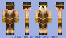 Man in a Barrel Minecraft Skin