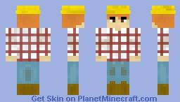 ❀グレース❀ Wheat Farmer for StarLillee's Contest Minecraft Skin