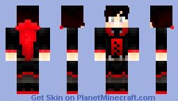 RWBY Ruby Rose Minecraft Skin