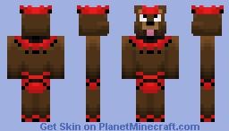 'Tomy' the Circus Bear (Circus Skin Contest) Minecraft Skin