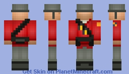 TF2 Collection - Soldier Minecraft Skin