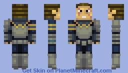 Steel armor Minecraft Skin