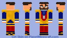 The Jolly Ring-Master (Circus Characters Skin Contest) Minecraft Skin