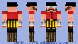 Stilt Man Circus Contest entry Minecraft Skin