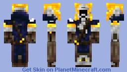 Warlock from Destiny Minecraft Skin