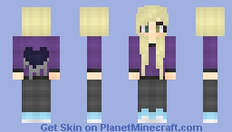 So cute :3 New shading! Minecraft Skin