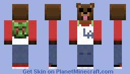 Bjørne Bjørn Minecraft Skin