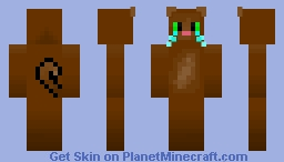 Bye, For awhile. . . Minecraft Skin
