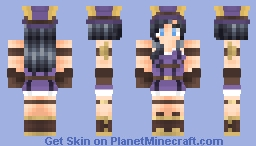 Caitlyn, the Sheriff of Piltover • League of Legends Minecraft Skin