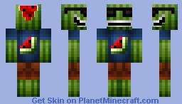 Cool Watermelon Minecraft Skin