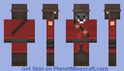 Team Fortress Cow Minecraft Skin
