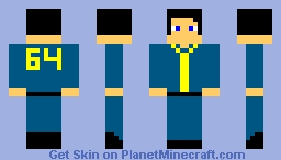 fallout girl skin Minecraft Skin