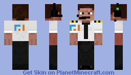 FT industries pilot Minecraft Skin