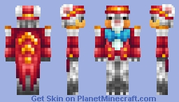 Gentle Ferret the Ringmaster Minecraft Skin