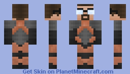 Gordon Freeman - Half Life 2 (Skin Battle) Minecraft Skin