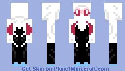 Spider-woman (Gwen Stacy) Minecraft Skin