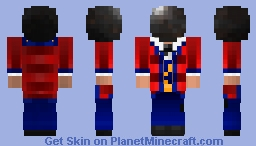 Human Cannonball; The Lion Tamer {#69 Circus Contest} Minecraft Skin