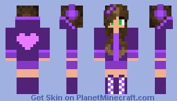 Hearts + Purple + Girl = Awesomeness!