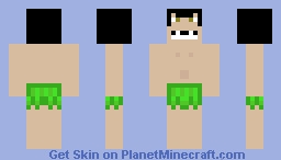 Pocket God - Nooby Minecraft Skin