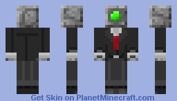 Battle Sentry in a Suit (Aether II) Minecraft Skin