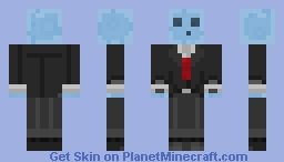Blue Swet in a Suit (Aether II) Minecraft Skin