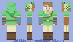 Super Smash Bros. 4 Link Minecraft Skin