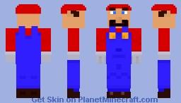 Mario - 1.8 Skin Minecraft Skin