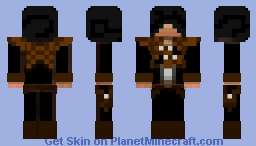 Black Edward Kenway Minecraft Skin
