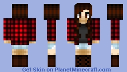 Hannah~Fall Minecraft Skin