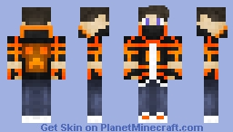 Flameeee---EXTREME PArkOUR skiN!!! HArdC00re Pl4ayers 0Nly!!!! Minecraft Skin