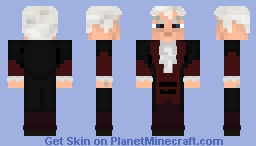 Third Doctor- Jon Pertwee - Doctor Who Skin Series Minecraft Skin