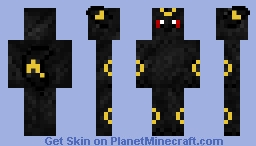 Umbreon Minecraft Skin