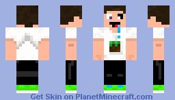 Im a Crazy Minecrafter Minecraft Skin