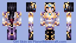 Lunar Goddess Diana (LoL Skin) Minecraft Skin