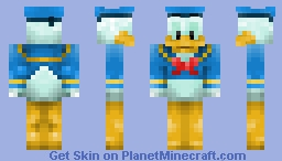 Donald Duck (Walt Disney) Minecraft Skin