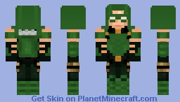 Green Arrow New 52 Minecraft Skin