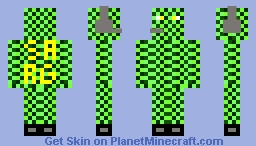 green and green :P Minecraft Skin