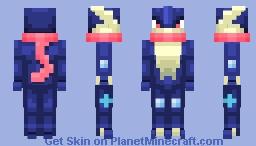 Pokémon: #658 Greninja Minecraft Skin