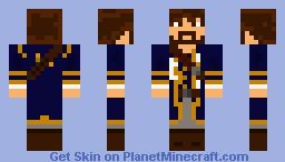 James Norrington Minecraft Skin