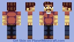 Ron Swanson Minecraft Skin