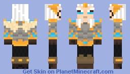 Skywrath Mage ( Dota 2 ) Minecraft Skin