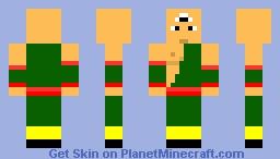 Tien Minecraft Skin